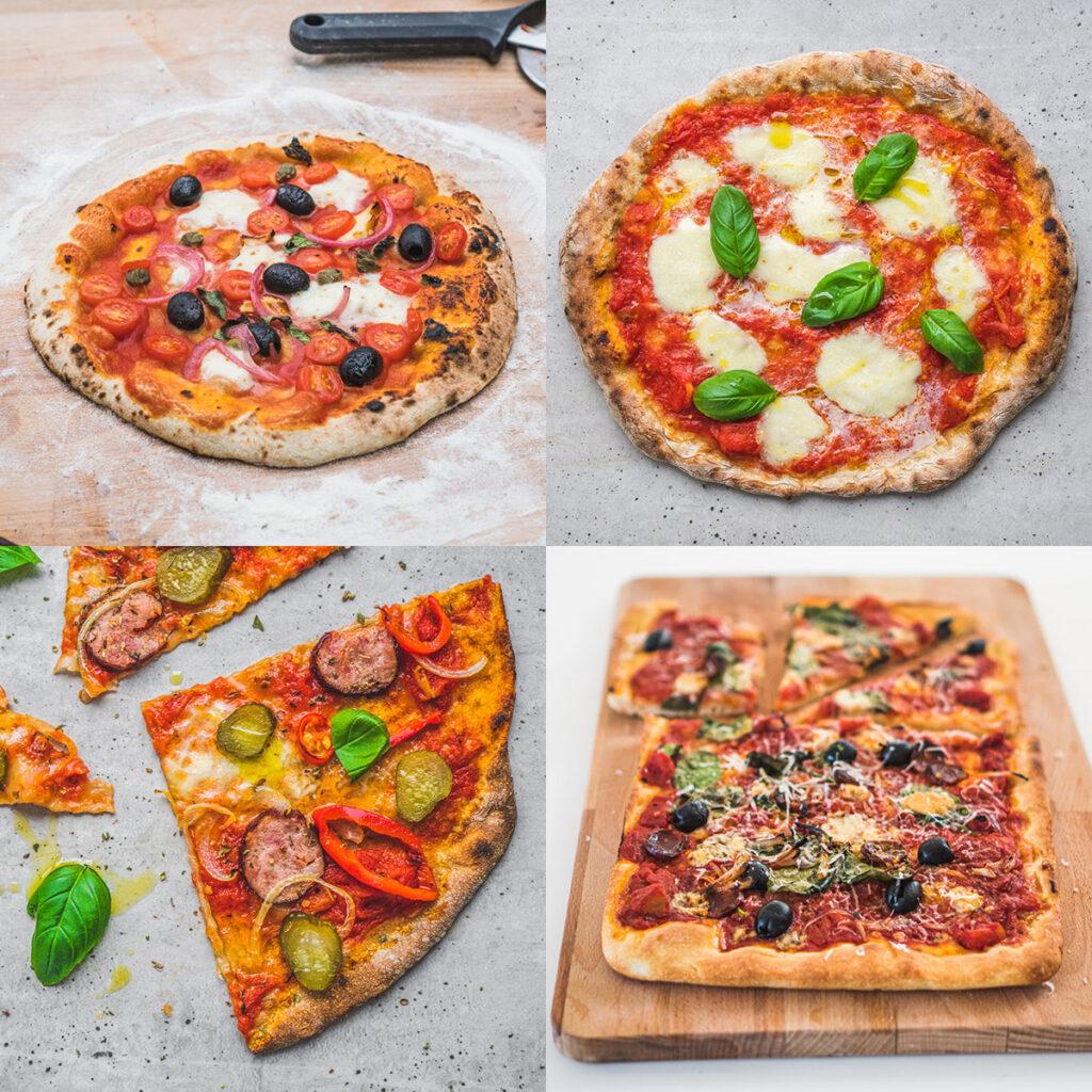 Kurs pieczenia pizzy, warsztaty online